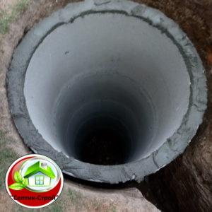 Септик из бетонных колец «под ключ» в Каменки